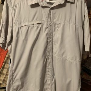 The North Face men's casual button down shirt
